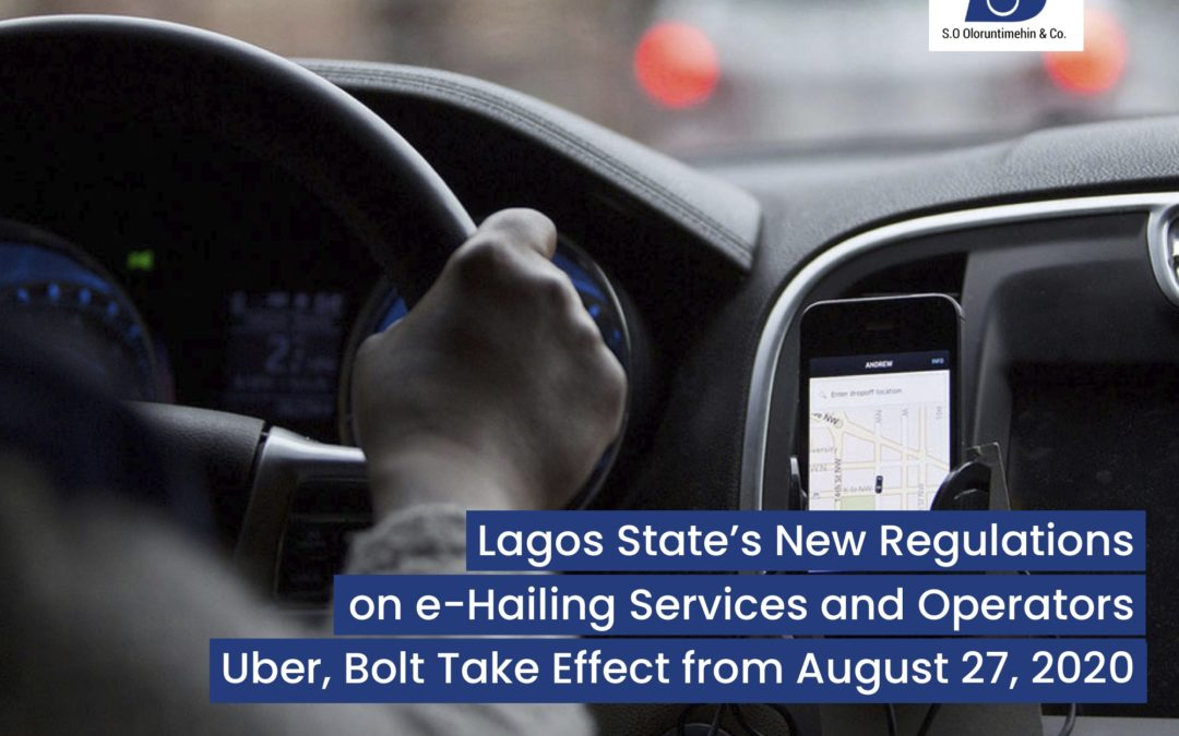 Lagos State's New Regulations on e-Hailing Services and Operators Uber, Bolt Take Effect from August 27, 2020