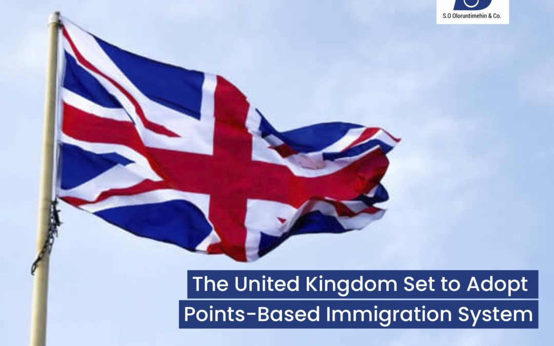 The United Kingdom Set to Adopt Points-Based Immigration System