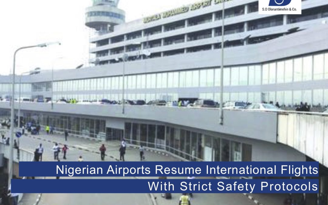 Nigerian Airports Resume International Flights with Strict Safety Protocols