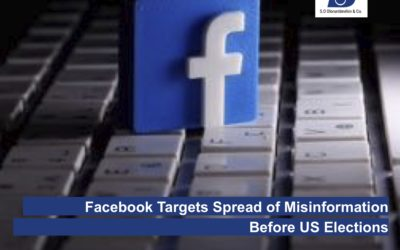 Facebook Targets Spread of Misinformation Before US Elections