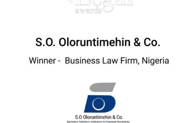 S. O. Oloruntimehin & Co Wins Business Law Firm of the Year at Acquisition International Legal Awards