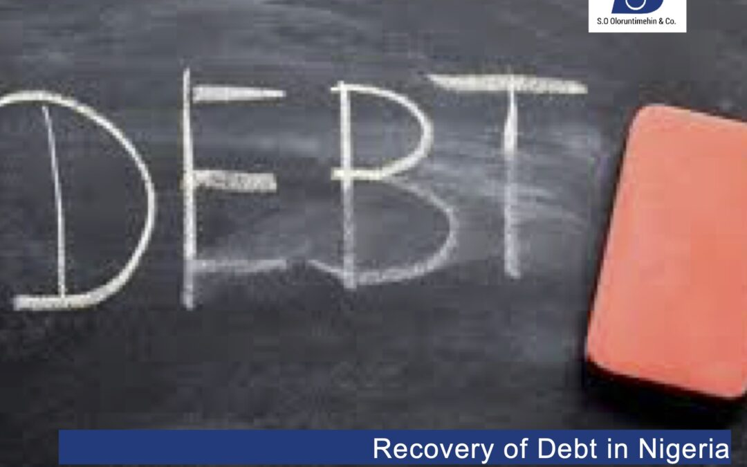 Recovery of Debt in Nigeria